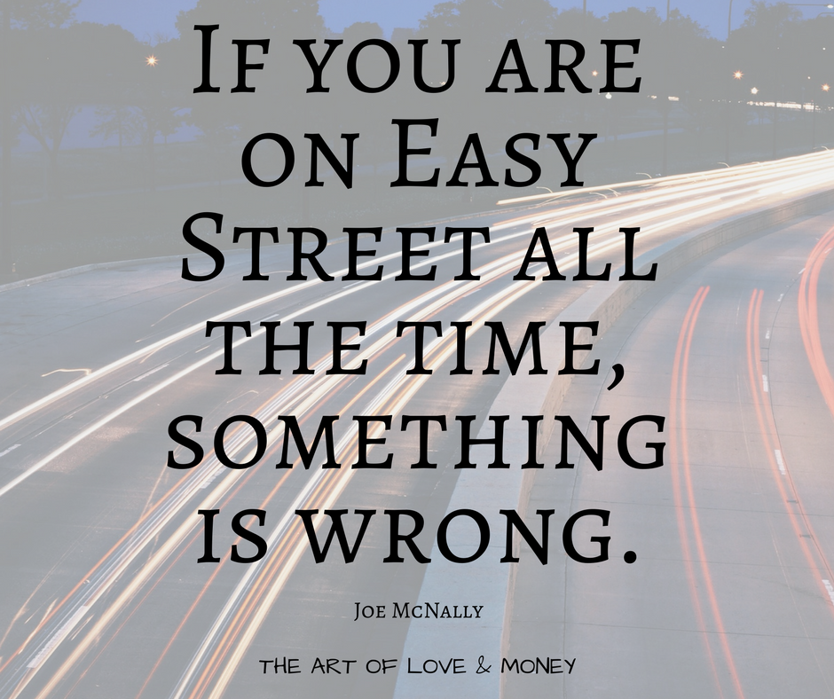 The Art of Love & Money Easy Street