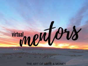 The Art of Love & Money Virtual Mentors sunrise with sand in foreground