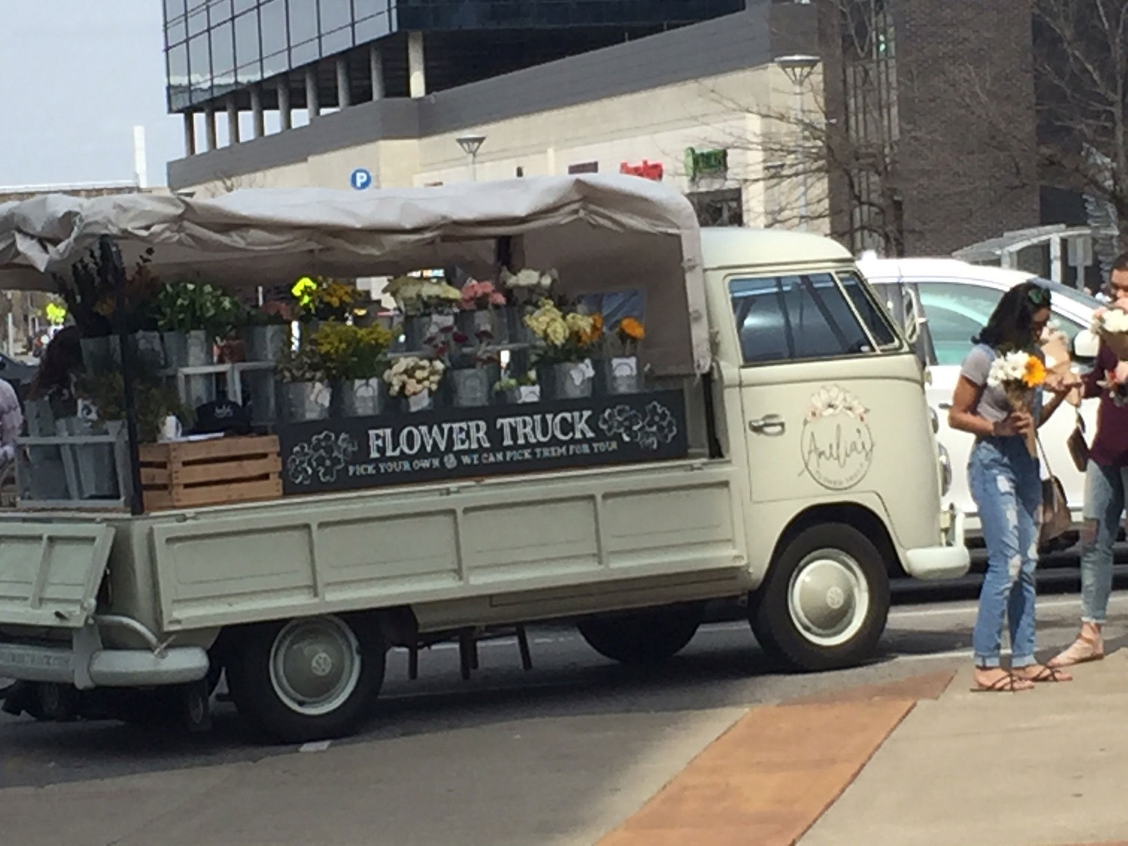 Art of Love & Money Nashville Flower Truck