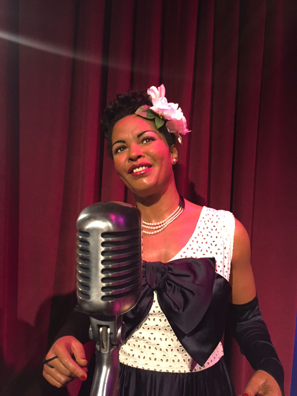 Art of Love & Money Nashville Wax Museum Billie Holiday