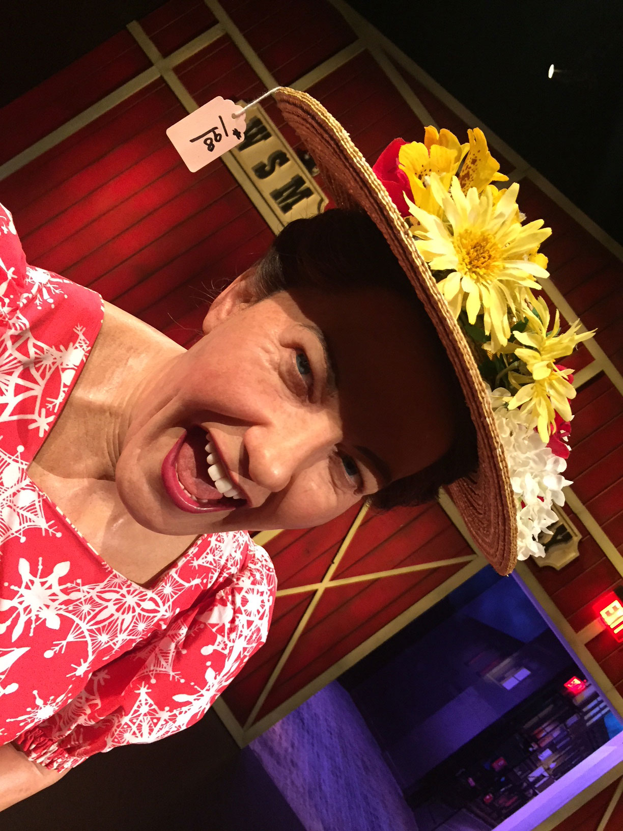 Art of Love & Money Nashville Wax Museum Minnie Pearl